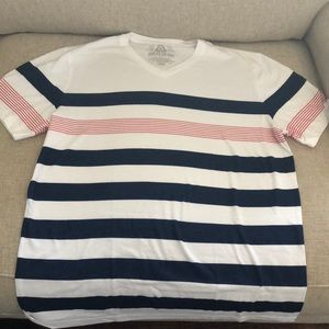 American Rag never worn stripe tee size L